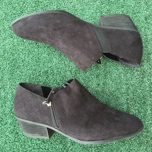Dr. Scholl's Chelsea Boot Suede Black 10W